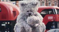 Teddy Bear a Londra orsetto contro lo smog