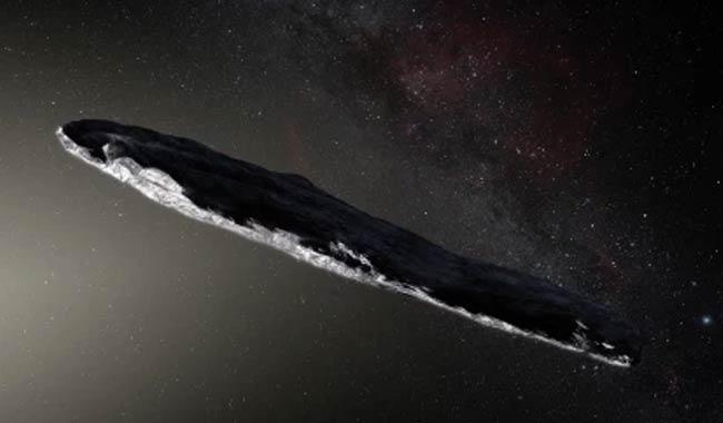 Asteroide Oumuamua, la fake dell'astronave spaziale