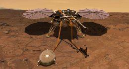 NASA la sonda Insight ha registrato il vento di Marte