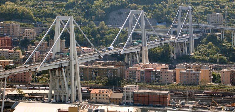 Genova domani il Ponte Morandi sparira completamente