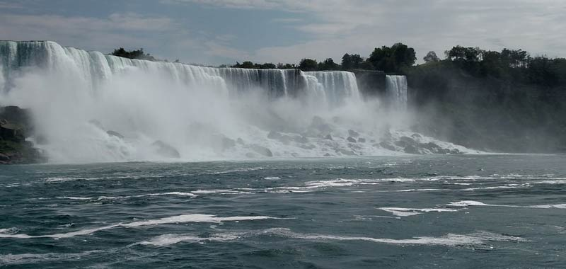 Come si forma una cascata