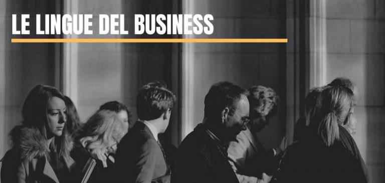 Le lingue del business: quali bisogna conoscere nel 2020