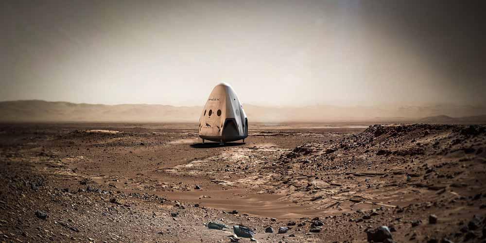 Elon Musk rivela Per Marte quasi tutto pronto