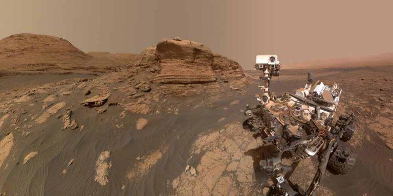 Marte, la nuova montagna scoperta da Curiosity