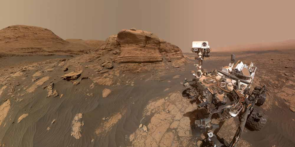 Marte la nuova montagna scoperta da Curiosity