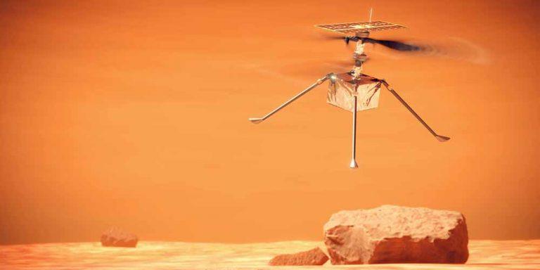 Marte: Perseverance registra i suoni di Ingenuity