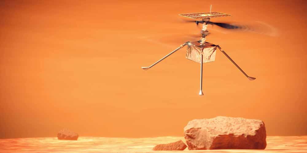 Marte Perseverance registra i suoni di Ingenuity