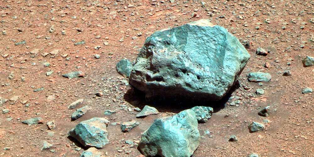 Marte Portare campioni di rocce potrebbe essere pericoloso