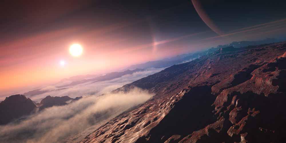 Scoperto un pianeta con atmosfera perfetta