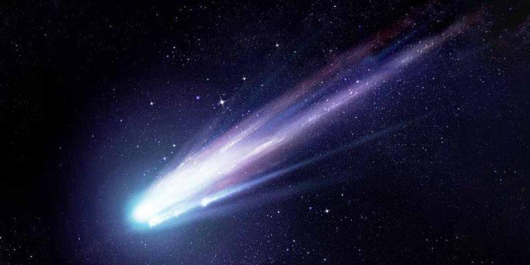 Una cometa piena di alcol scoperta dalla Nasa