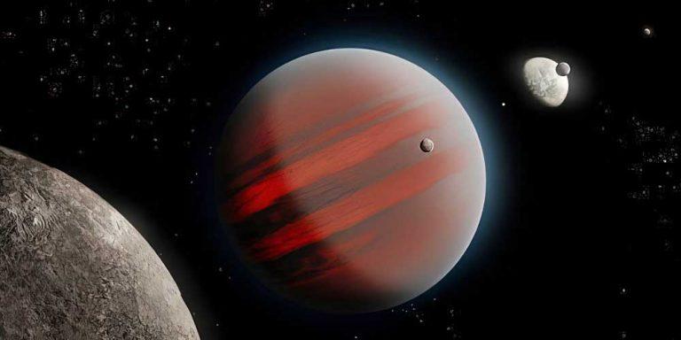 Nane brune più pesanti di pianeti come Giove